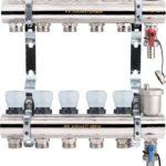 Коллекторная группа с расходомерами и термостатическими клапанами PROFACTOR превью фото 1