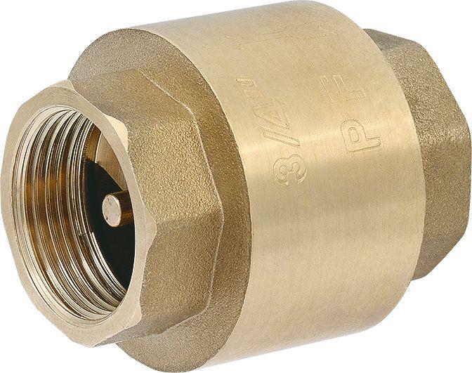 Клапан обратный пружинный осевой фото