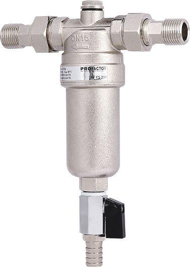 Фильтр промывной для горячей воды фото