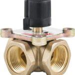 Трёхходовой поворотный смесительный клапан превью фото 1