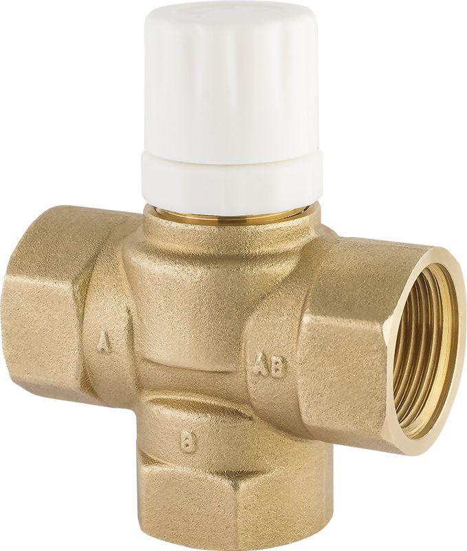 Клапан трёхходовой термостатический фото