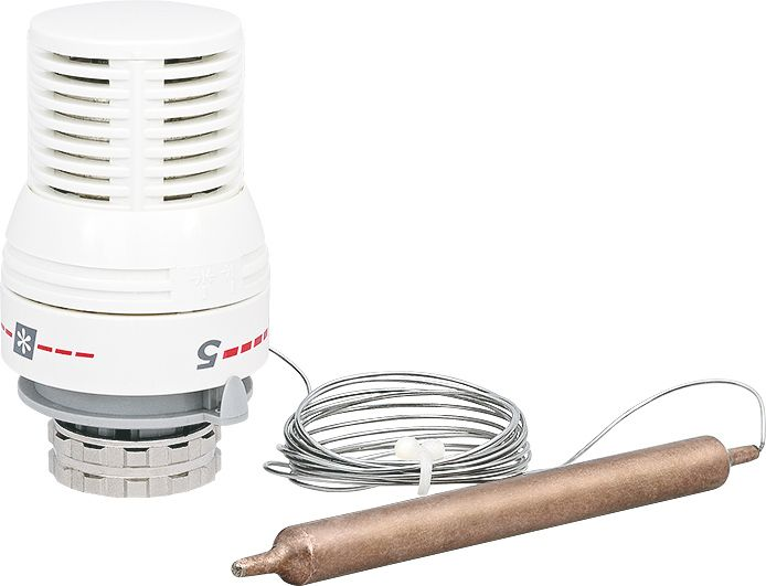 Головка термостатическая с погружным датчиком 20-60°С фото