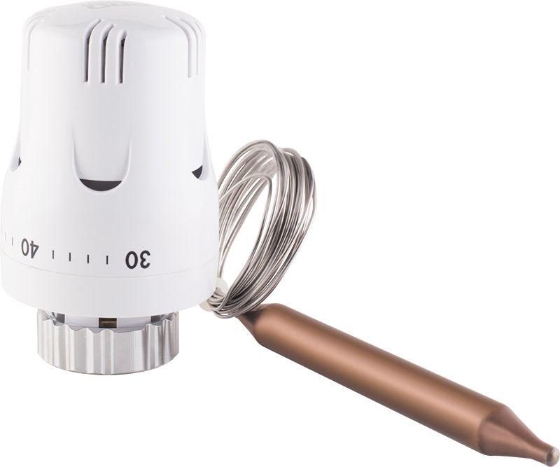 Головка термостатическая с погружным датчиком 30-70°С фото