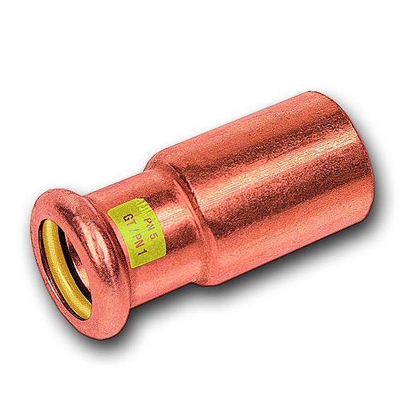 Пресс-фитинги из меди и бронзы для горючих газов фото 2