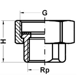 Соединение для насосов, ВР, чугун фото 2