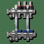Коллекторная группа с расходомерами и термостатическими клапанами SANHA превью фото 1