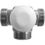 Трехходовый термостатический клапан для однотрубных С.О. превью фото 1