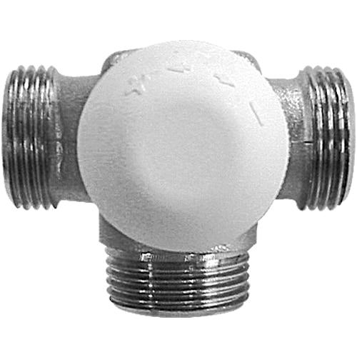 Трехходовый термостатический клапан для однотрубных С.О. фото